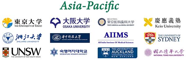 Asia Pacific authors